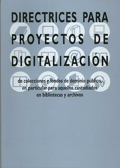 Directrices proyectos de digitalización