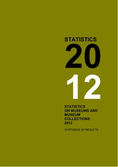 Statistics on museums and museum collections 2012: synthesis of results