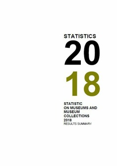 Statistics on museums and museum colletions 2018: results summary