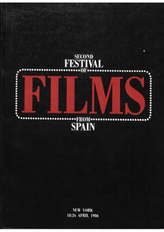Festival films from Spain, second-86